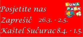 Posjetite nas u Zaprešiću i Kaštel Sućurcu